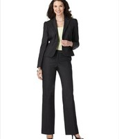 Female business attire in suit