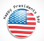 President's Day: 2/15/16