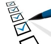 2. Make a to-do list