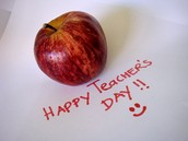 Thank You Teachers - From the Buckingham PTO!