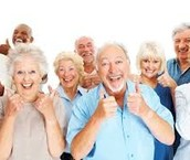 NEW!!! Seniors Day! Last Wednesday of each month! 15% OFF*!!!