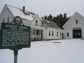 Robert Frost's old farm house in New Hampshire.