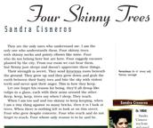 Four Skinny Trees