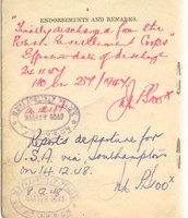 Polish Resettlement Corps Registration Book