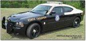 State trooper car