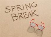 4 Days until Spring BREAK