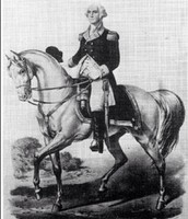 George Washington as a horsemen
