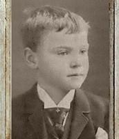 Antonin as a child