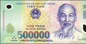 2) Vietnamese Dong