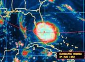 Hurricane Andrew On Radar