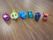1st grade- Pinch pot animals