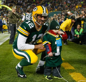 Aaron Rodgers being a kind guy