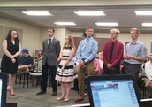 CYBER CREW PRESENTS AT BOARD MEETING