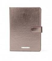Chelsea Mini Ipad Case- Pewter Metallic