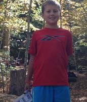 Noah at Camp
