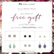 Don't forget about the free gift on all orders of $125+