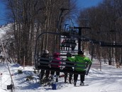 Up on the Lift