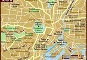 Location of Tokyo.