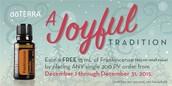 December Frankincense Offer!
