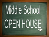 Middle School Open House Information