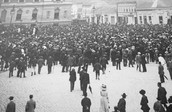 1908 - Austria-Hungary annexed Bosnia