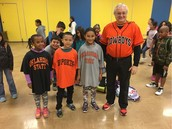 College Bound Monday Assembly at Pillow & Mr Yeager's class taught us all about OK State!