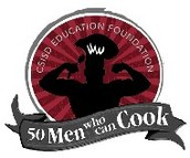 """CSISD Education Foundation's, """"50 Men Who Can Cook"""""""