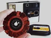 2004, Kodak stops making film cameras.
