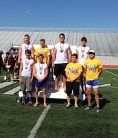 Boys Track Team Competed at Regionals!