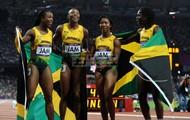 JAMAICAN WOMEN'S 4X4 RELAY TRACK TEAM