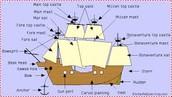 Santa Maria Boat Diagram