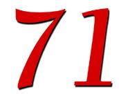 The Number Seventy One