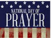 National Day of Prayer is May 7th
