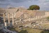 The Remains of Pergamum
