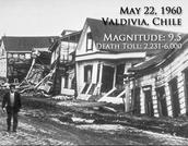 1960 Valdivia, Chile Earthquake
