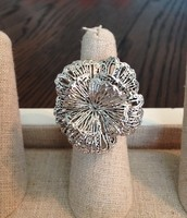 Geneve Lace Flower Ring