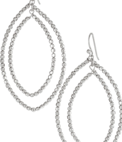Bardot Hoops - Silver - SOLD!!