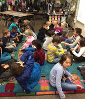 Working on math fact fluency with partners