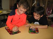 Creating scratch art pictures