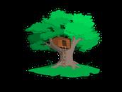 Una fortaleza de árboles