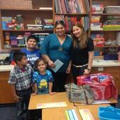 Happy to meet Mrs. Bezares!