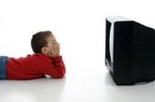 En mi me gusta mirar la televisión