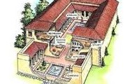 a type of roman houses
