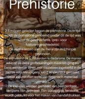 Poster Prehistorie
