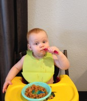 Learning to eat with a spoon