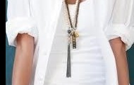 Awakening Necklace layered with Revival Tassel