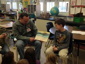 Mr. Coskey as our guest reader!