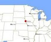 Location of Nebraska