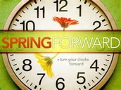 Daylight Saving- Spring Forward