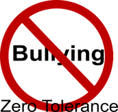 Bullying has zero tolerance